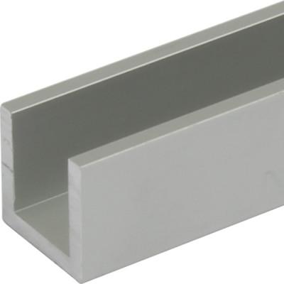 Hawa junior 80 bottom channel, for sliding/folding interior doors, L=2000 telescopico, AA