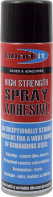 Contact spray adhesive, high strength, 500 ml can, size 500 ml