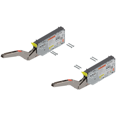 AVENTOS HK top stay lift system, PF=420-1610 (2 pieces) suitable for SERVO-DRIVE, Zn