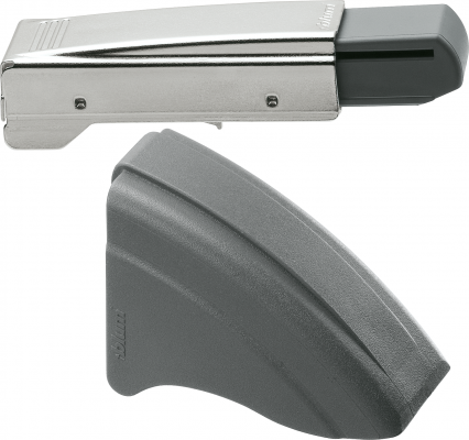 BLUMOTION clip-on for angled +45° hinge, nickel