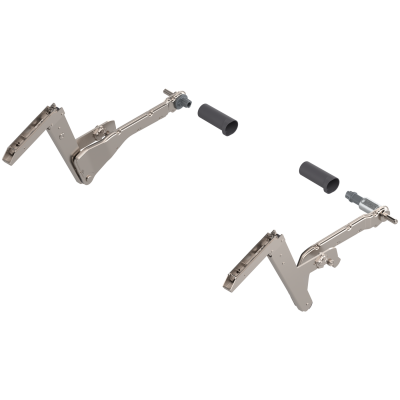 AVENTOS HS Lever Arms left+right, nickel