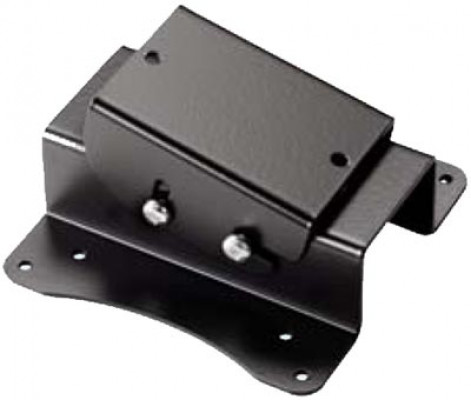 Vesa bracket, with 18ø tilt, for accuride mechanical lift, black