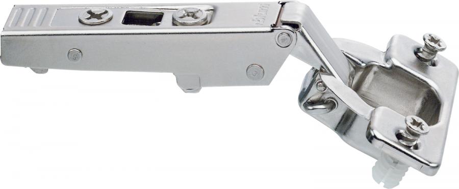 CLIP top hinge 120°, sprung steel boss EXPANDO, NP