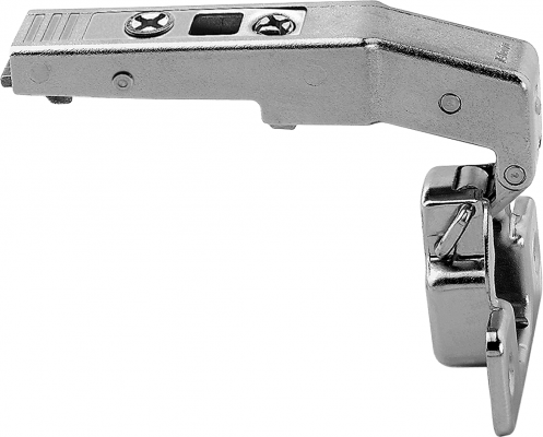 CLIP top Hinge 95° for blind corner application, boss: screw-on, NP