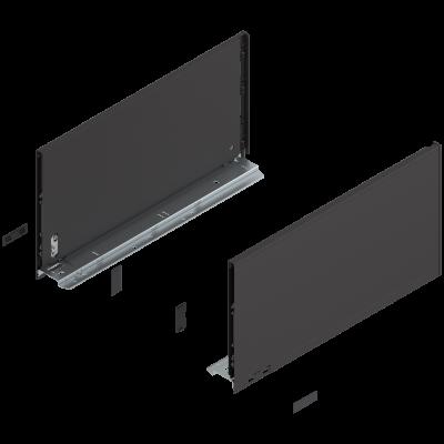 LEGRABOX drawer side 'F' black