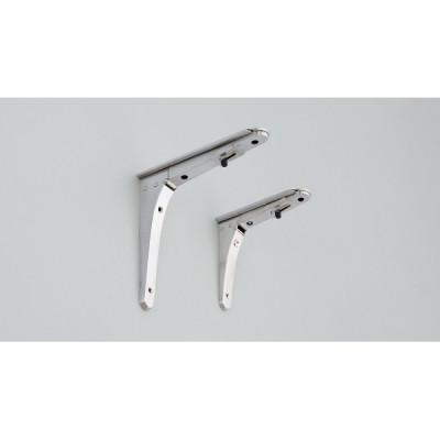 Folding bracket, 180 mm, stainless steel