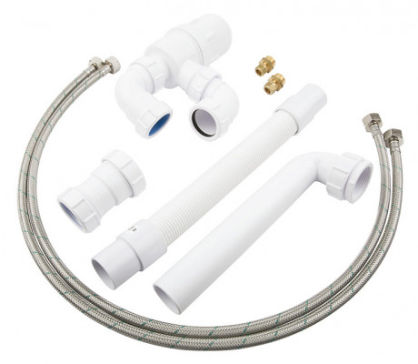 Flexible Plumbing Kit White