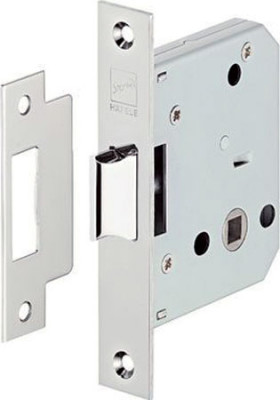 Startec Mortice Latch Lock Matt Ss