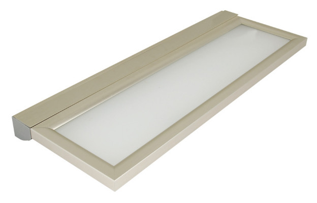 LED shelf light with touch switch, 8W/240V, 900 mm, wing, cool white 4250-4600 K