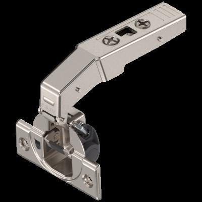 CLIP top BLUMOTION inset hinge 95°  for blind corner applications, nickel