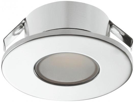 LED downlight 1.5W/12V, 35 mm, IP44, LOOX LED 2022, cool white 5000K, chrome