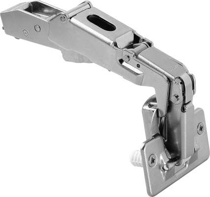 CLIP top wide angle hinge 170°, OVERLAY, boss: screw-on, NP
