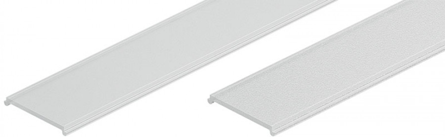 Diffuser cover, replacement, for Loox aluminum profiles, L=2500 mm, frosted