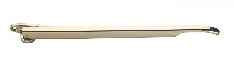 Casement stay, for timber windows, zinc alloy, L=257 mm, nickel