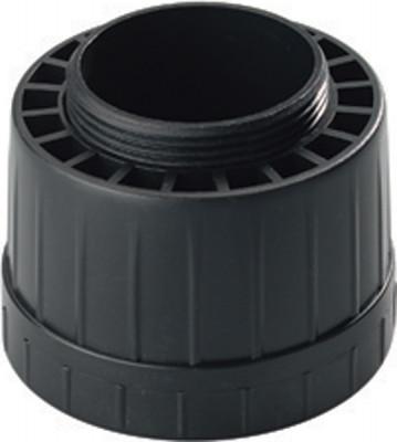Height Adjustable Foot Pl Blk D60mm