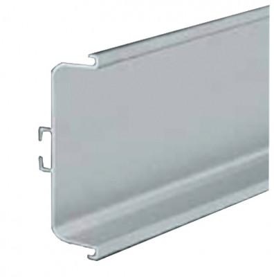 Profile handle, horizontal fixing between doors & drawers, Gola system C plus, brush brass