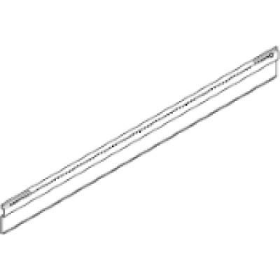 ORGA-LINE, adapter profile 550mm for cross divider, silk white