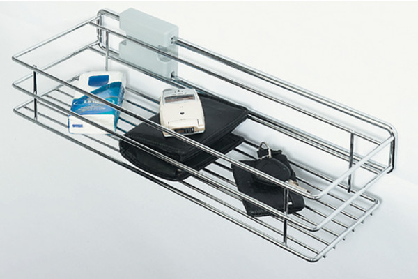W/Robe Pull-Out Basket 455mm Chrome