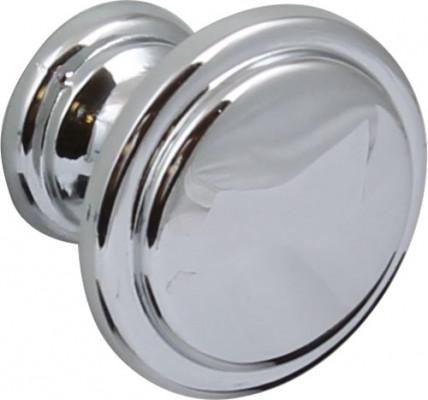 Knob, zinc alloy, ø 30 mm, angus, antique brass