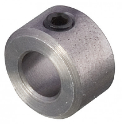 Stop ring, for drill bits, set screw with hexagonal socket, for bit 5 mm