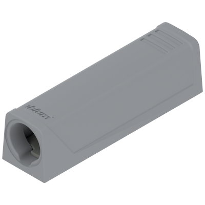 TIP-ON In-line adapter, short version, dust grey