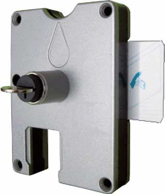 œ1 Coin Operated Lock Lh Card
