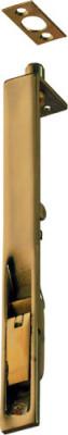 Flush Bolt Pol Brass 152X19mm