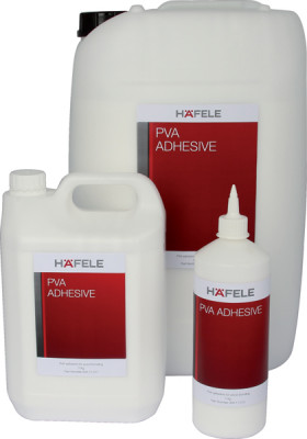 Pva adhesive, contract grade, size 1-25 kg, häfele, size 1 kg