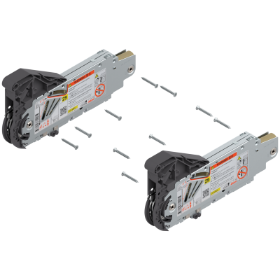 AVENTOS HL lift up, med-heavy duty lift mechanism (set), for SERVO-DRIVE