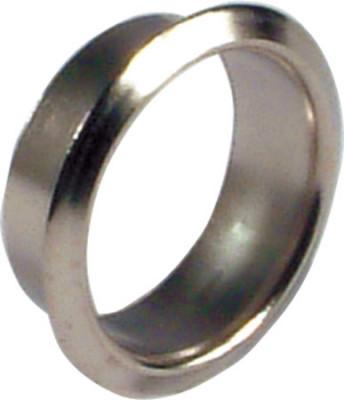 Cylinder rosette, ø 22 mm, brass