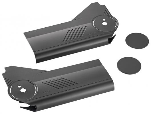 AVENTOS HL lift up, cover cap set, left+right, dark grey