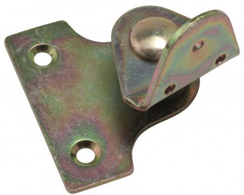 Table pivot hinge swivel bracket, brass