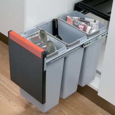 Cube po wastebin, 300 mm, 3x10L