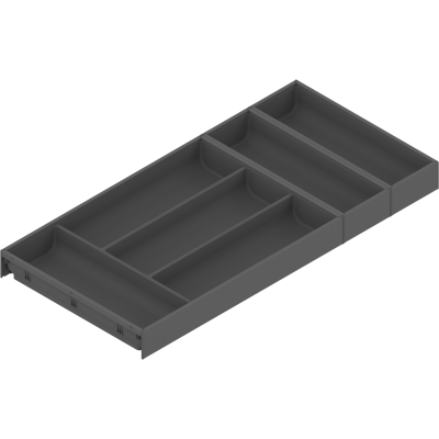 AMBIA-LINE cutlery insert, width=300 mm, NL=650 mm, orion grey