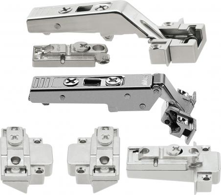 CLIP top hinge pack for ALUMINIUM DOORS for AVENTOS HF bi-fold lift