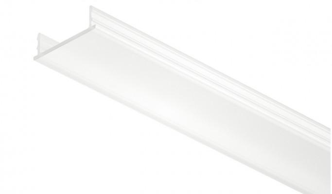 Diffuser cover profile, for 12V led strip lights, L=2500 mm