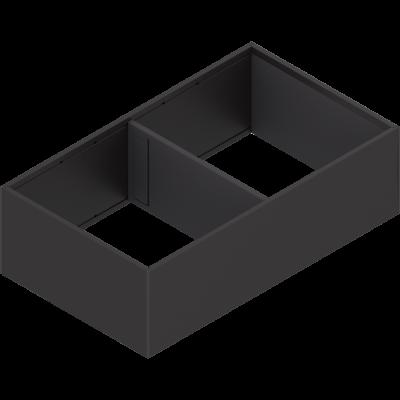 AMBIA-LINE frame, width=218 mm, NL=400 mm, terra black