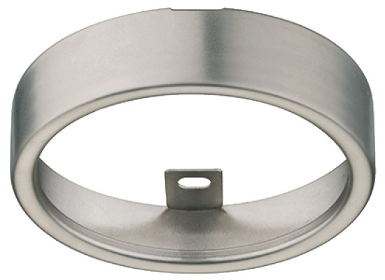 Round Bezel, Ø 66.5 mm, for Loox LED 2020/2047/2048/3038/3039, nickel silver
