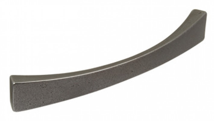 Bow handle, cast iron, fixing centres 160 mm, taper, iron