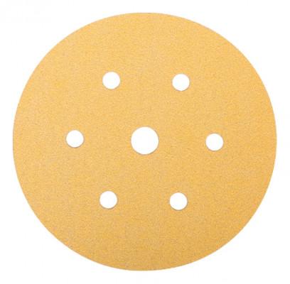 Abrasive disc, 150 mm, 7 hole