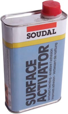 Surface activator, bottle 500 ml, soudal, size 500 ml