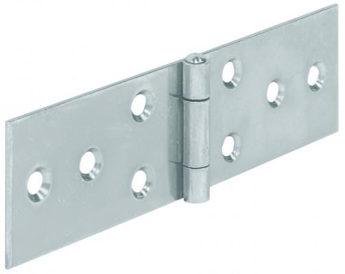 Horizontal hinge, steel, 28x80 mm, galvanized