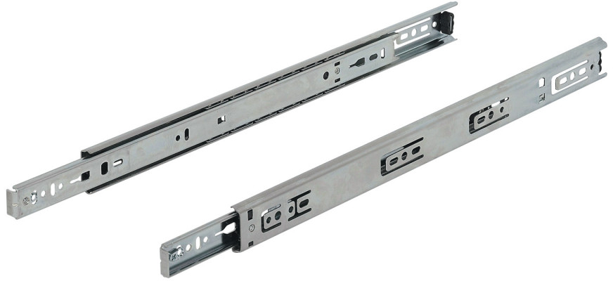 Ball bearing drawer runner, single extension, capacity 34 kg, L=350 mm, Accuride 2132