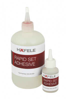 High strength adhesive, rapid set, Häfele, 500 gm, screw cap