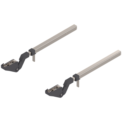 AVENTOS HF bi-fold lift system, telescopic arm (set), CH=560-710 mm, symmetrical