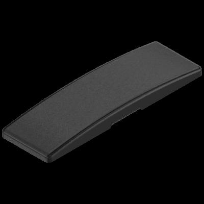 Cover cap for CLIP top hinge, NO BLUM LOGO, onyx black