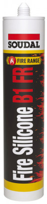 Silicone sealant, fire retardant, tube 310 ml, b1 fr, white