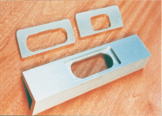 Jig, routing set for soss hinges, cabinet application