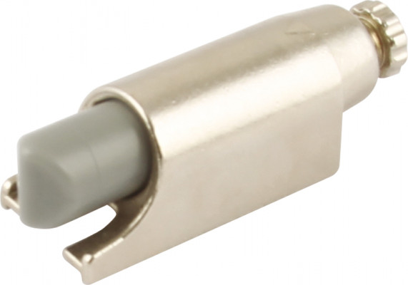 Soft close adapter, for use with mirro mirror hinge with spring, nickel