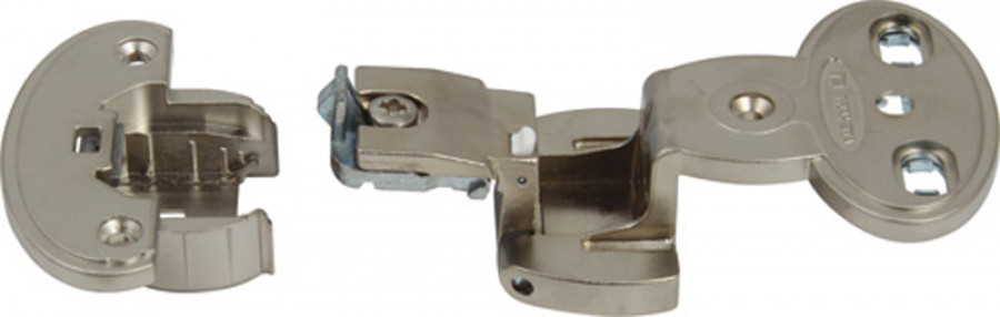 Exposed axle hinge arm, 270ø single pivot, quick mounting, Aximat 300,
